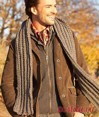 Длина мужского шарфа: правильные пропорции Ширина и длина мужского шарфа должны быть тщательно выверены, чтобы аксессуар, а вместе с ним и образ, выглядели по-настоящему привлекательно и интересно