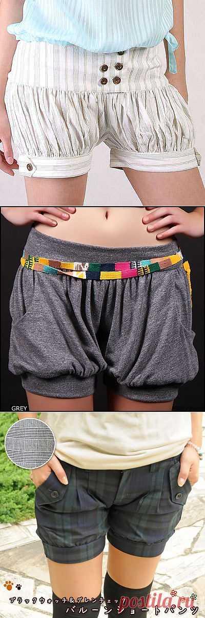 Шариковые шорты / Шорты / Модный сайт о стильной переделке одежды и интерьера