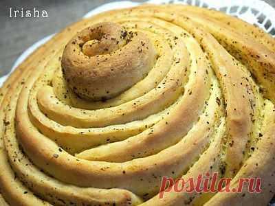 Пряно-чесночный хлеб : Хлеб, батоны, багеты, чиабатта