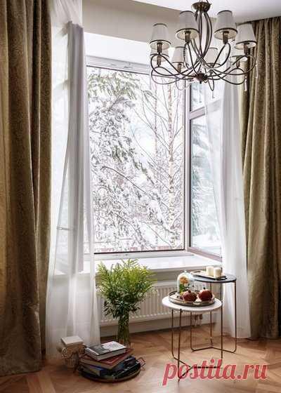Как рассчитать размер штор на окно: какой длины и ширины должны быть летние и зимние шторы