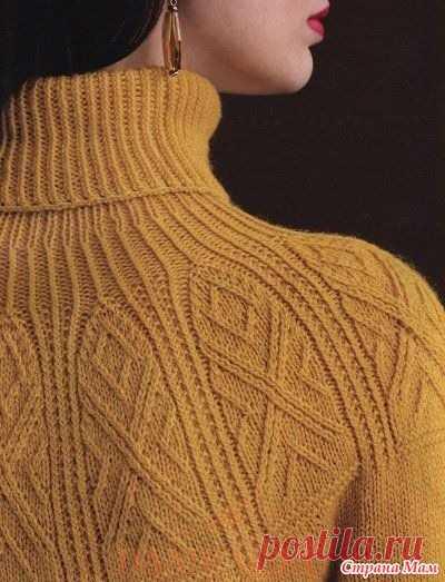 . Женский свитер «Crown Jewels» - Вязание - Страна Мам