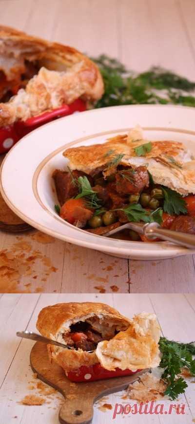 Домашнее рагу из говядины удивительно богатое и ароматное блюдо!