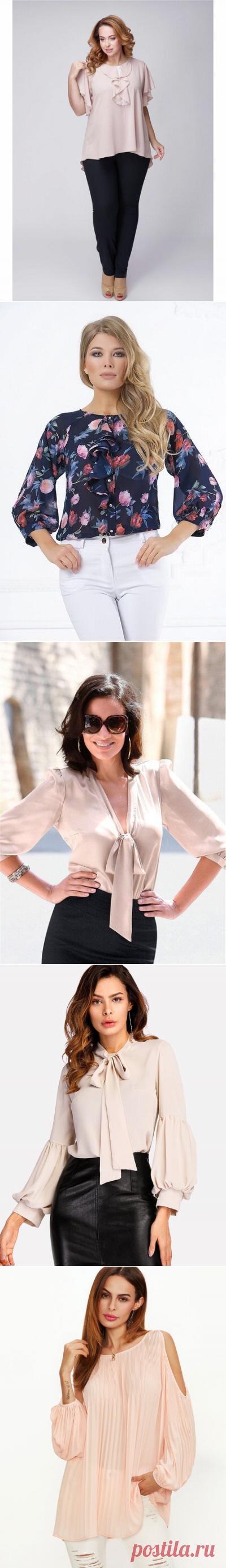 Какие блузы предлагают нам носить в 2019 году | твой стиль | Яндекс Дзен