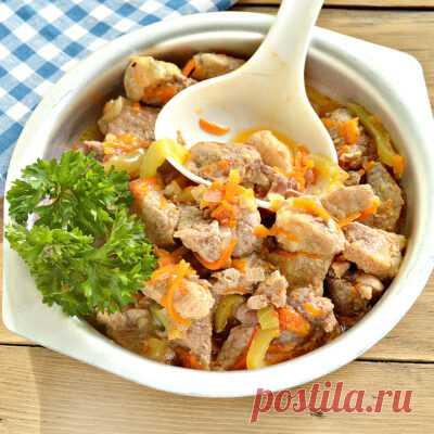 Жаркое из свинины, 25 рецептов с фото - ФотоРецепт