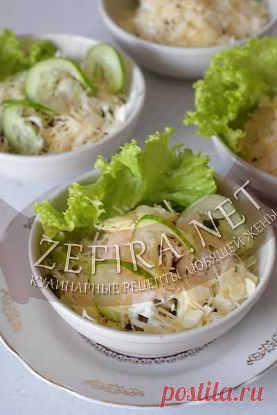Салат с говядиной, грушей и огурцом-домашние рецепты с фото