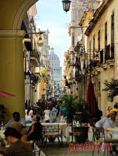 Уличные ресторанчики старой Гаваны, Куба