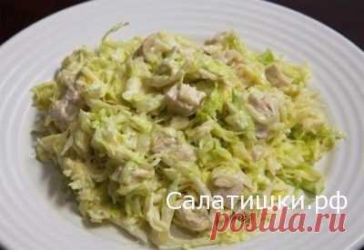 РЕЦЕПТ ЛЕГКОГО САЛАТА ДЛЯ СУШКИ ТЕЛА » Рецепты вкусных салатов
