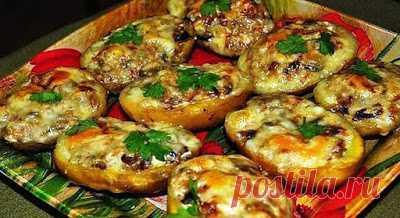 Домашняя кухня: Лодочки из картошки в мундире