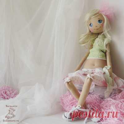 Выкройка текстильной куклы 60 см. - Кукольная мастерскаяКукольная мастерская