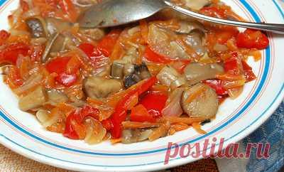 Салат с грибами на зиму. Вкусный салат из грибов на зиму. - пошаговый рецепт с фото