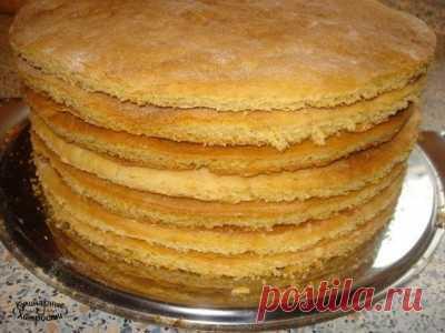 """Торт """"Семистаканник"""" из старых кулинарных записей"""