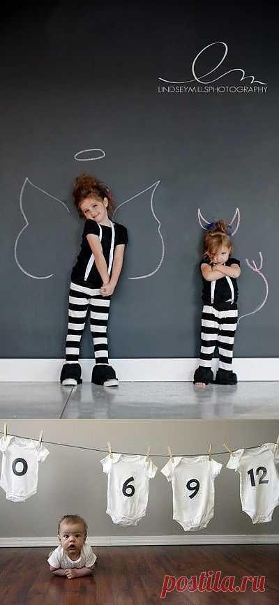 Две идеи детской фотосъемки / Фото (идеи съемок) / Модный сайт о стильной переделке одежды и интерьера