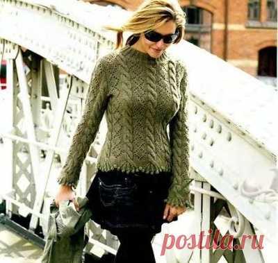 Beautiful marsh sweater
