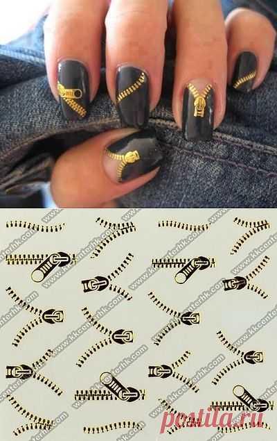 Молнейносные ногти (DIY) / Макияж/Маникюр / Модный сайт о стильной переделке одежды и интерьера