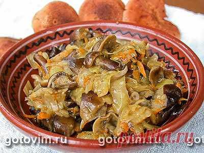 Солянка капустная с грибами. Фото-рецепт / Готовим.РУ