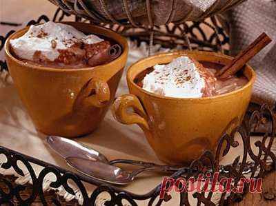 Как приготовить горячий шоколад в домашних условиях - Напитки безалкогольные