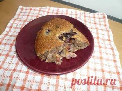 Пирог ореховый со сливами - Сладкие пироги и кексы