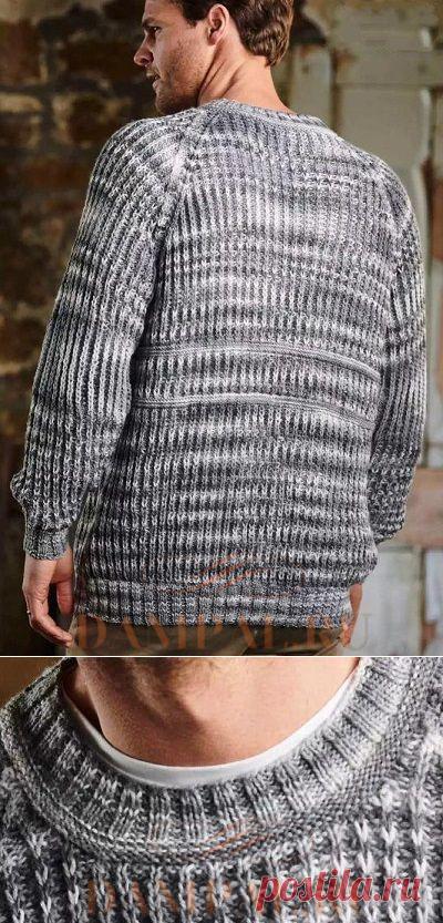 Мужской пуловер «Greystoke»   DAMские PALьчики. ru