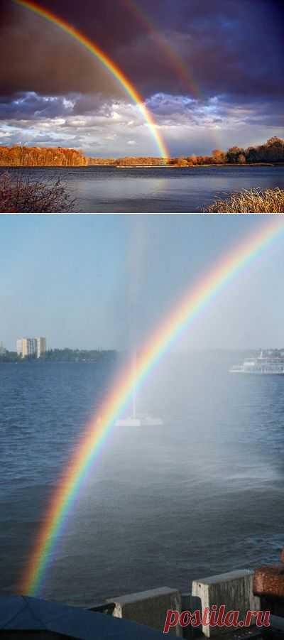 Почему нельзя фотографировать радугу