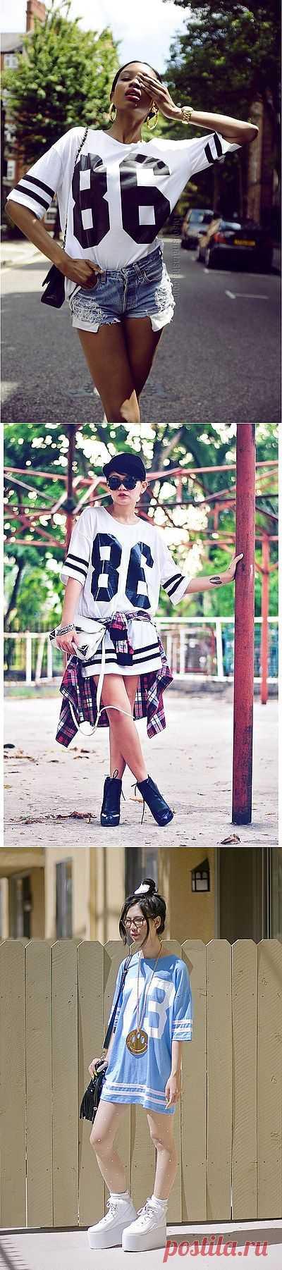 Футболка бойфренда (подборка) / Тенденции / Модный сайт о стильной переделке одежды и интерьера
