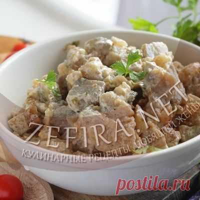 Баклажаны жареные в сметане как грибы – Кулинарные рецепты любящей жены