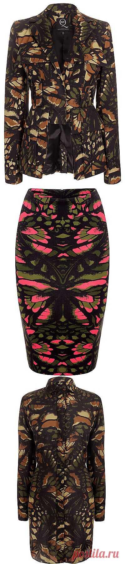 Alexander McQueen - женский камуфляж (трафик) / Рисунки и надписи / Модный сайт о стильной переделке одежды и интерьера