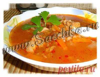 Харчо с рыбой | рецепты на Saechka.Ru