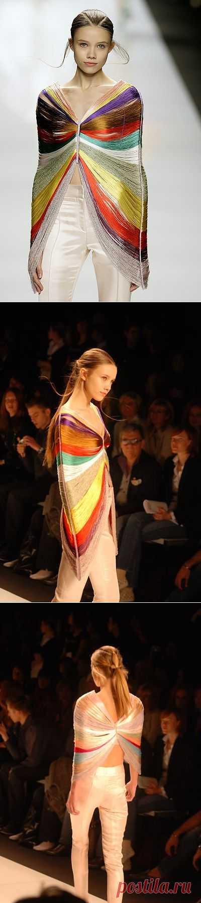 Byblos Spring 2009 (трикотаж) / Фактуры / Модный сайт о стильной переделке одежды и интерьера