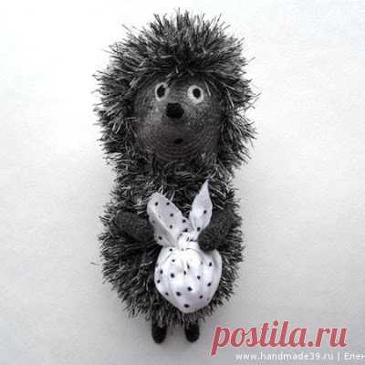 1000 схем амигуруми на русском: Ежик в тумане крючком