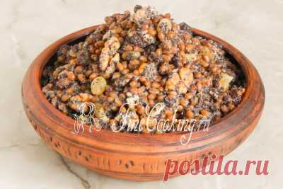 Кутья из пшеницы рождественская - рецепт с фото