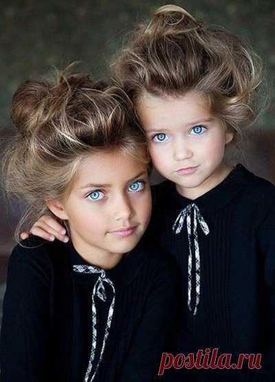 От большой любви рождаются красивые дети