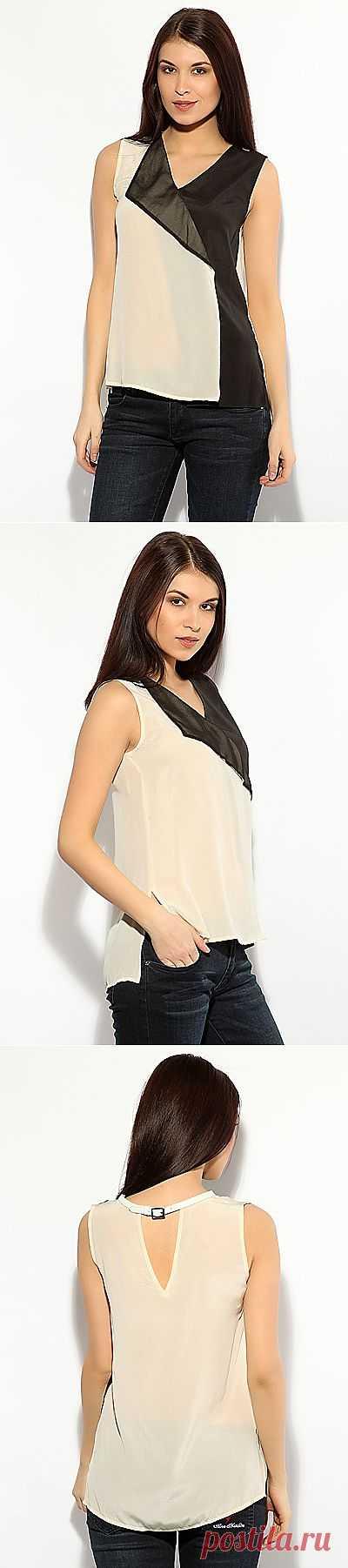 Простой топ / Простые выкройки / Модный сайт о стильной переделке одежды и интерьера