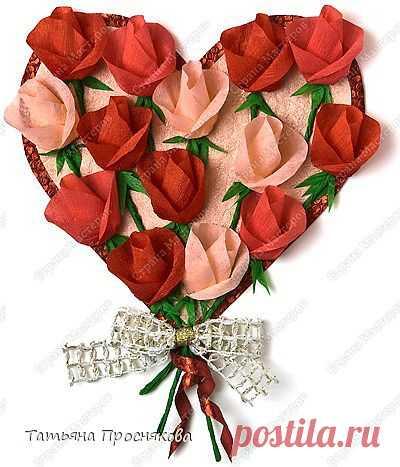 Миллион роз из гофрированной бумаги