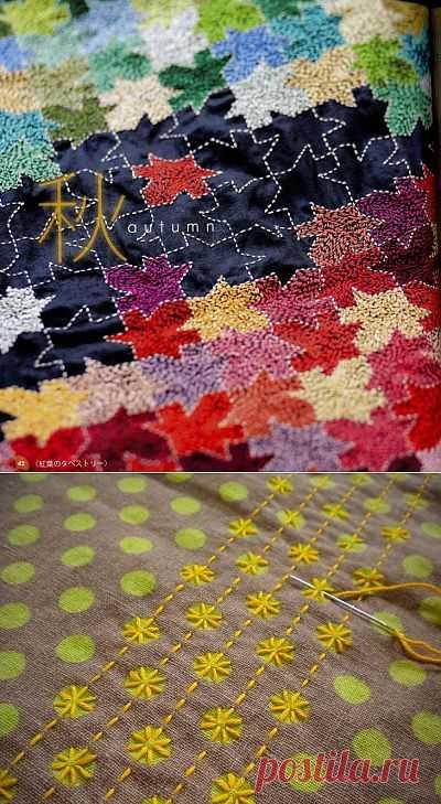 Вышивка по рисунку - две идеи / Вышивка / Модный сайт о стильной переделке одежды и интерьера
