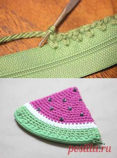 Как подготовить молнию для вязаных вещей / Вязание / Модный сайт о стильной переделке одежды и интерьера