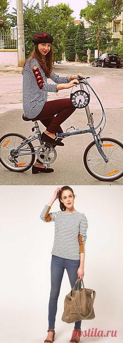 Две идеи для рукавов тельняшки / Тельняшки / Модный сайт о стильной переделке одежды и интерьера