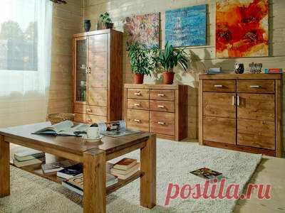 Мебель из массива дерева или шпон?