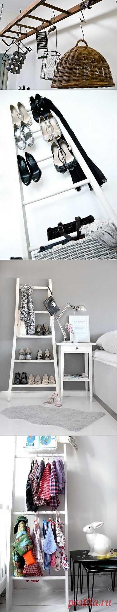 Salvaged wood : мебель из стремянок / Мебель / Модный сайт о стильной переделке одежды и интерьера