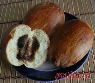 Пирожки на закваске способом венского теста : Выпечка сладкая