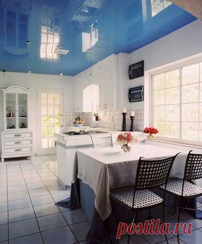 Натяжной потолок: фото дизайна и советы по использованию в интерьере от профессионалов