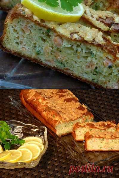 Рыбный кекс «Нежный ломтик» : Рыбные блюда