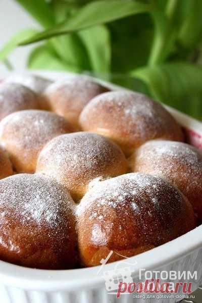 Бухтельн (Buchteln) на малиновом конфитюре - пошаговый рецепт с фото на Готовим дома