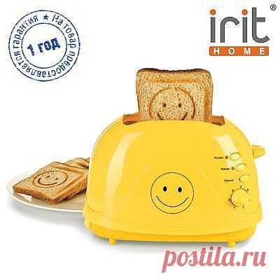 Тостер Irit, мощность 700 Вт - 1299 руб.