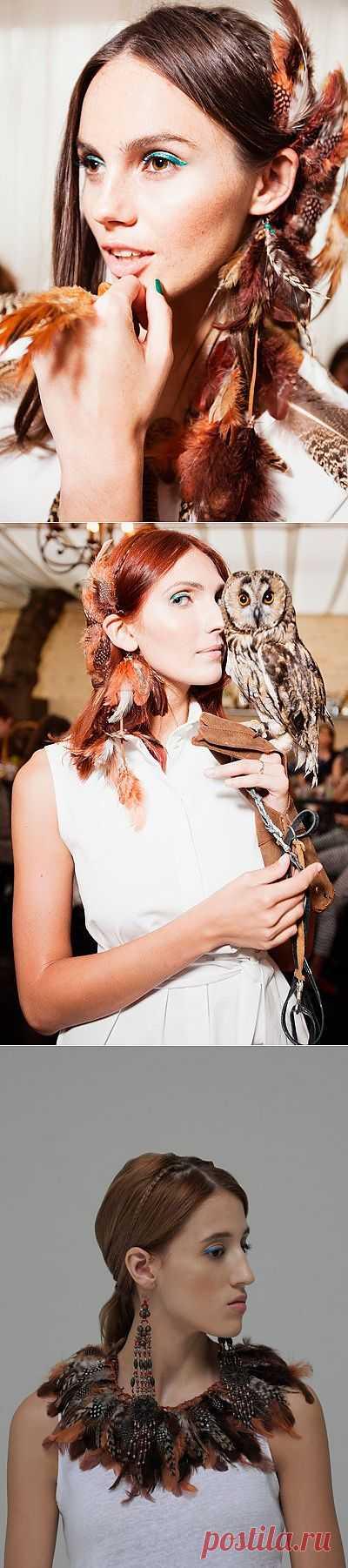Мой друг индеец - lookbook совместного проекта Oksana On x MASTERPEACE / Лукбуки / Модный сайт о стильной переделке одежды и интерьера