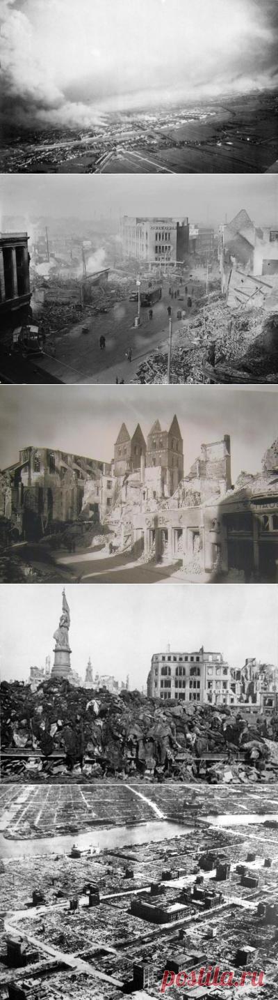 Каковы были самые страшные бомбардировки XX века? | Культура