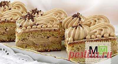 Кофейные тортики - кулинарный рецепт. Миллион Меню