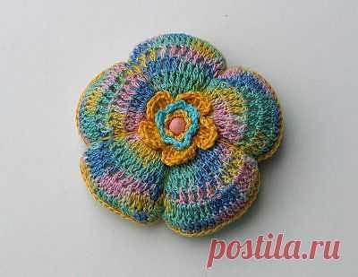 Fios de Alfazema: Alfineteira em crochet