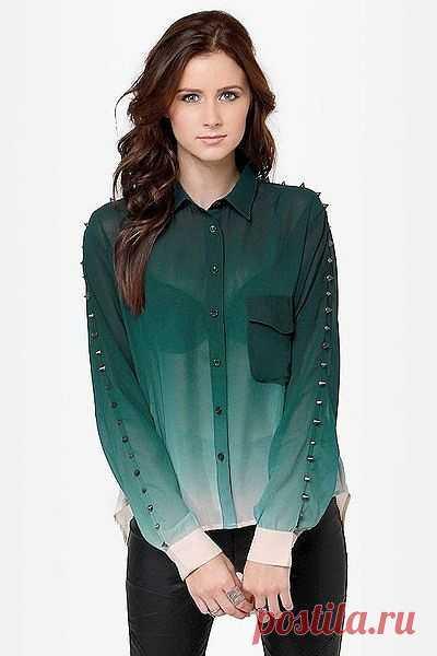 Масло масляное / Блузки / Модный сайт о стильной переделке одежды и интерьера