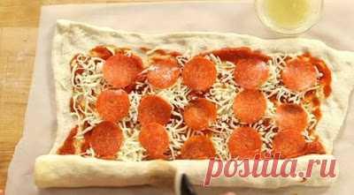 Так пиццу я еще никогда не готовила! И очень зря…