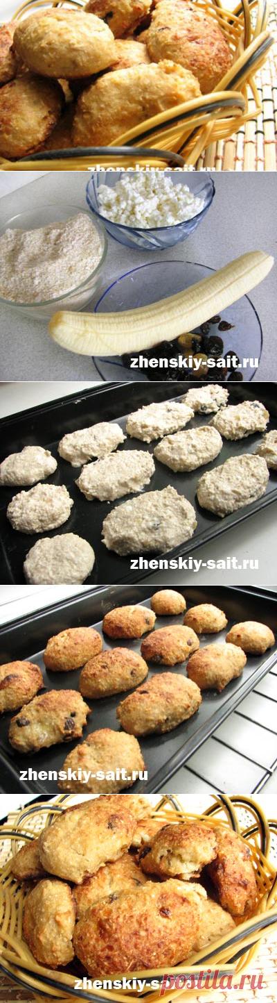Диетическое низкокалорийное печенье - рецепт с фото